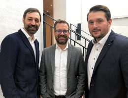 v.l.n.r. Markus Siegel, Gero Maskow, David Manschwedat | CROSSMEDIA GmbH